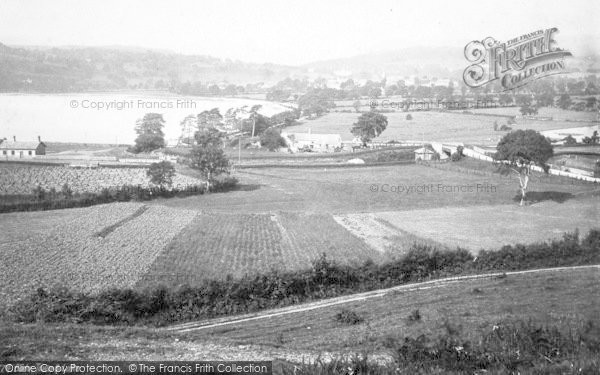 Photo of Bala, Town And Lake 1888
