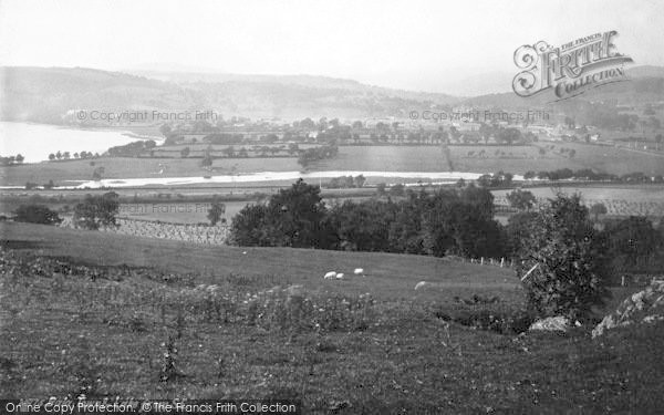 Photo of Bala, Town And Lake From South East 1888