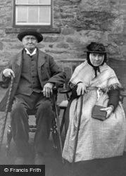 Bala, Workhouse, Inmates Roland And Betsy Jones c.1870