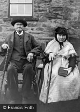 Bala, Workhouse, Inmates Roland and Betsy Jones c1870