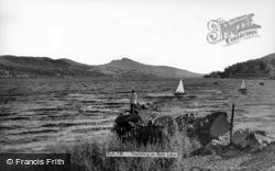 Yachting On The Lake c.1953, Bala