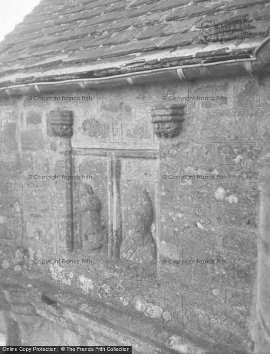 Photo of Balbegno Castle, Tower, False Window 1954