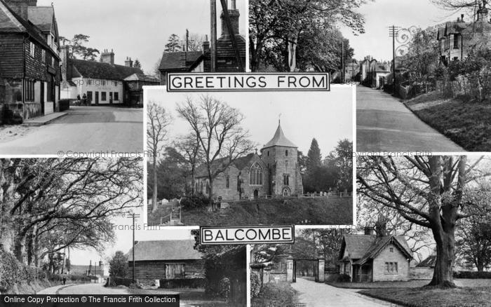 Photo of Balcombe, Composite c.1955