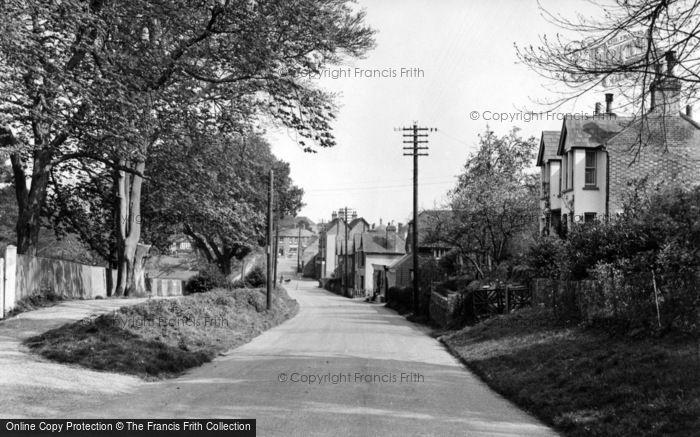 Photo of Balcombe, Haywards Heath Road c.1955