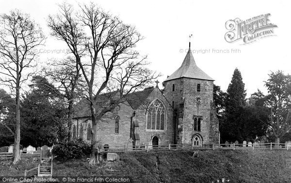 Photo of Balcombe, St Mary's Church c.1955