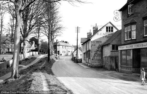 Photo of Balcombe, The Village c.1955