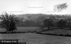 Balcombe, View From The Church c.1955