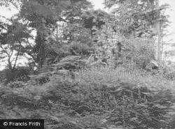 Baldernock, Craigmaddie Castle Ruins 1951
