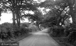 Balderstone, Commons Lane c.1955