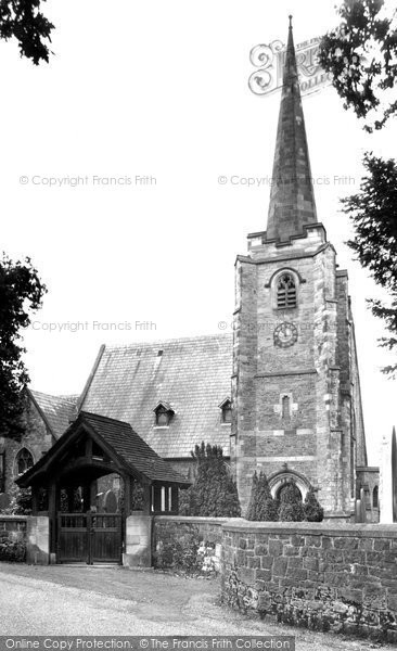 Photo of Balderstone, St Leonard's Church c.1955