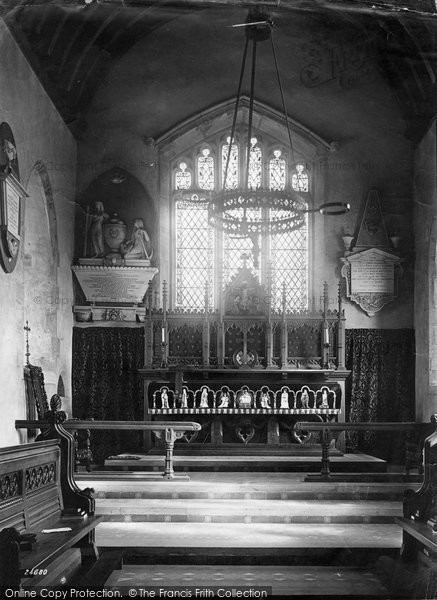 Photo of Balderton, Church Chancel 1890