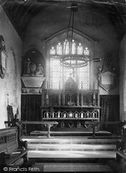 Balderton, Church Chancel 1890