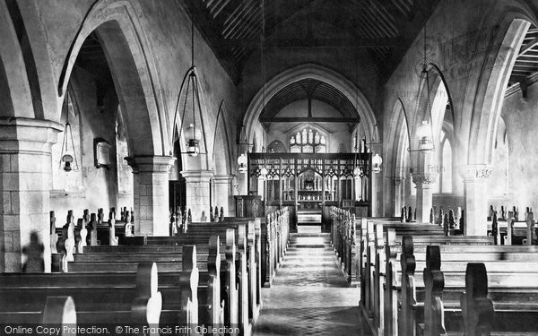 Photo of Balderton, Church, Nave East 1890