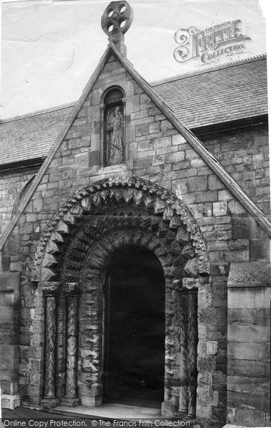 Photo of Balderton, Church, North Porch 1890