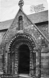 Balderton, Church, North Porch 1890