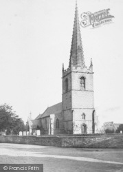 Balderton, St Giles Church 1890