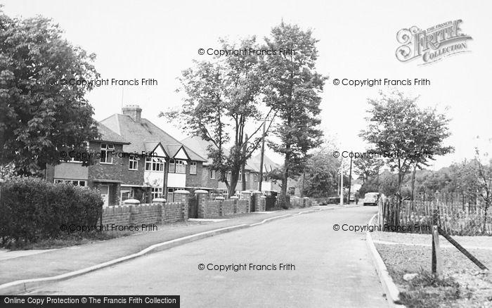Photo of Baldock, Ashtons Lane c.1955