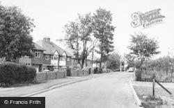 Baldock, Ashtons Lane c.1955