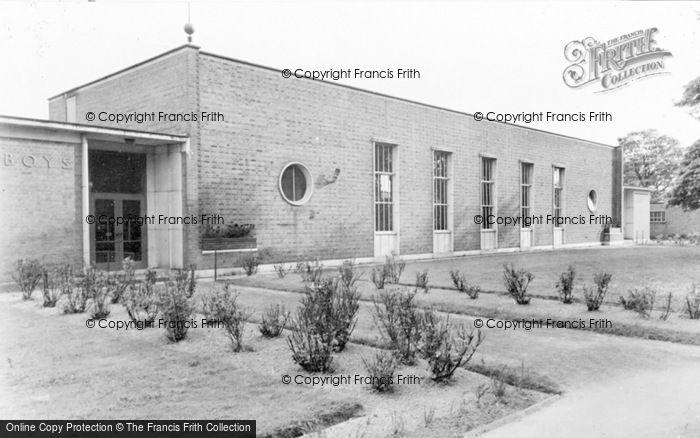 Photo of Baldock, County Seconday School c.1955