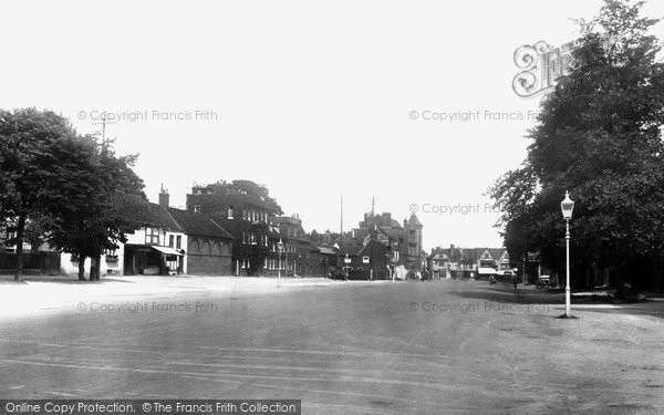 Photo of Baldock, High Street 1925