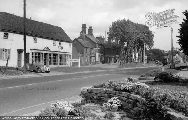 Photo of Baldock, High Street c.1955