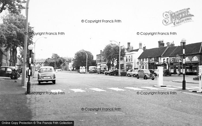 Photo of Baldock, High Street c.1960