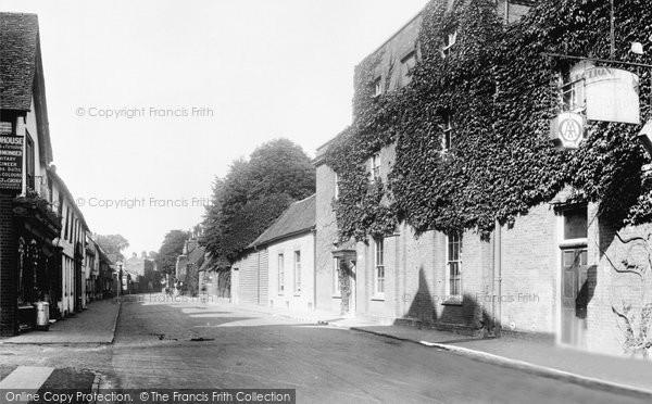 Photo of Baldock, Hitchin Street 1925