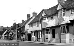 Baldock, Hitchin Street c.1955