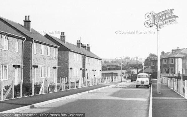 Photo of Baldock, Hopewell Road c.1955