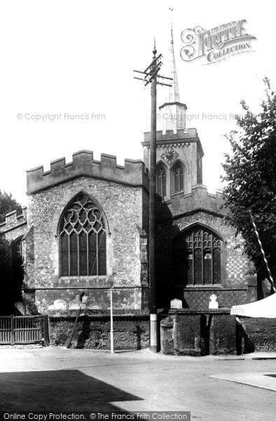 Baldock, St Mary's Church 1925