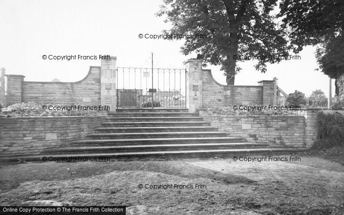 Photo of Baldock, The Memorial Garden Gate c.1960