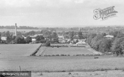 Baldock, The Town From The Weston Hills c.1955
