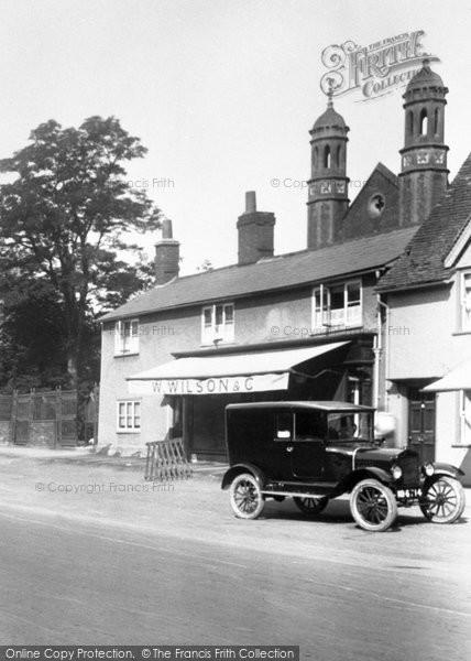 Baldock, The Village Shop 1925