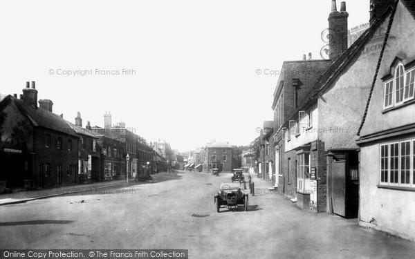 Photo of Baldock, White Horse Street 1925