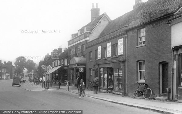 Photo of Baldock, White Horse Street 1925