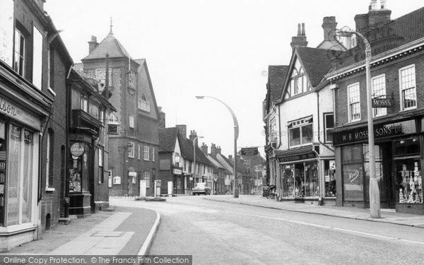 Photo of Baldock, White Horse Street c.1955