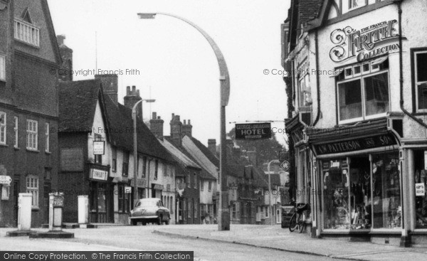 Photo of Baldock, White Horse Street c.1955