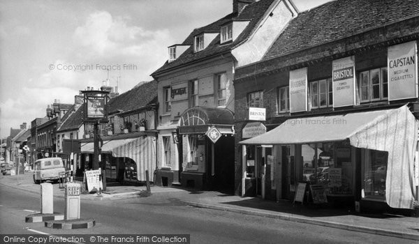Photo of Baldock, White Horse Street c.1960