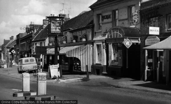 Photo of Baldock, White Horse Street c.1960