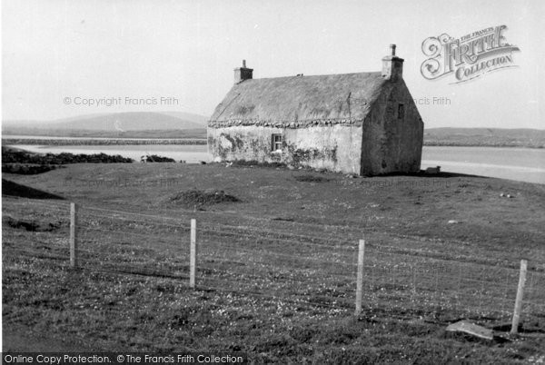Photo of Baleshare, Crofters' Cottage 1963