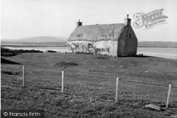 Baleshare, Crofters' Cottage 1963