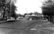 Balham, Atkins Road and Agnes Riley Gardens c1960