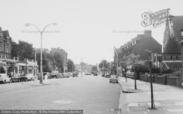 Photo of Balham, High Road c.1960