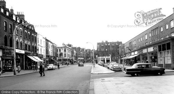 Photo of Balham, High Road c.1965