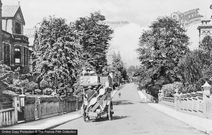 Photo of Balham, Nightingale Lane c.1905