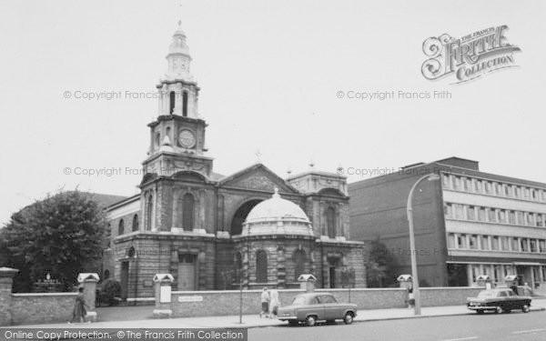 Photo of Balham, Parish Church Of St Mary c.1960