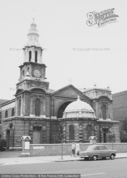 Photo of Balham, Parish Church Of St Mary c.1960