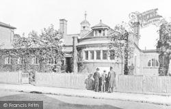 Balham, Public Library, Ramsden Road c.1905
