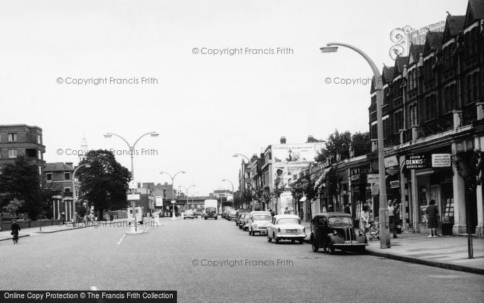 Photo of Balham, Shopping On High Road c.1960