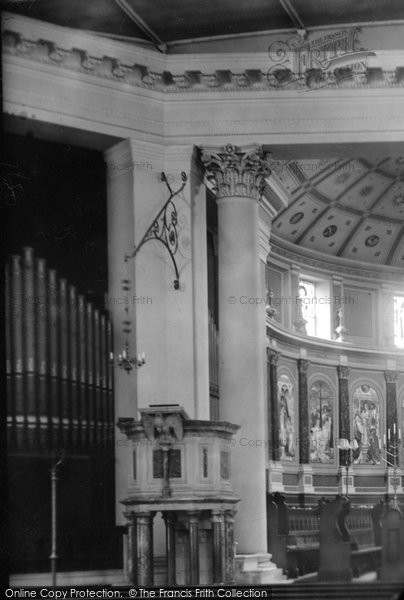 Photo of Balham, St Mary's Church Interior 1898